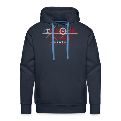 Logo Jérôme Carassius Auratus - Couleur - Sweat-shirt à capuche Premium pour hommes