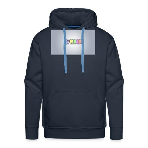 Logo KowDady - Sweat-shirt à capuche Premium pour hommes
