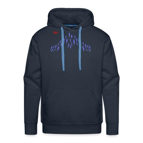 Violet Flying fish - Men's Premium Hoodie
