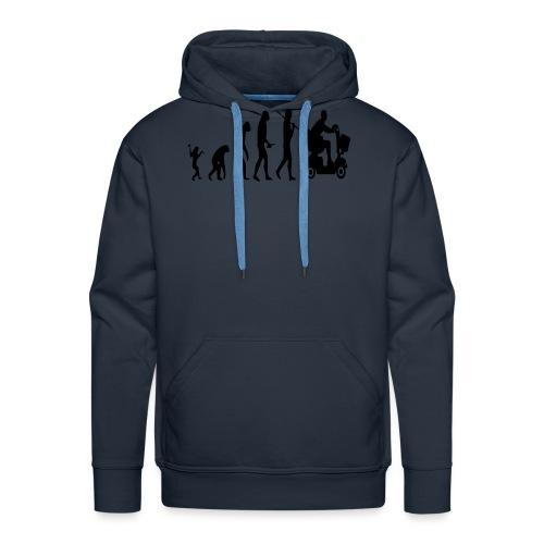 Scootmobielevolution - Mannen Premium hoodie