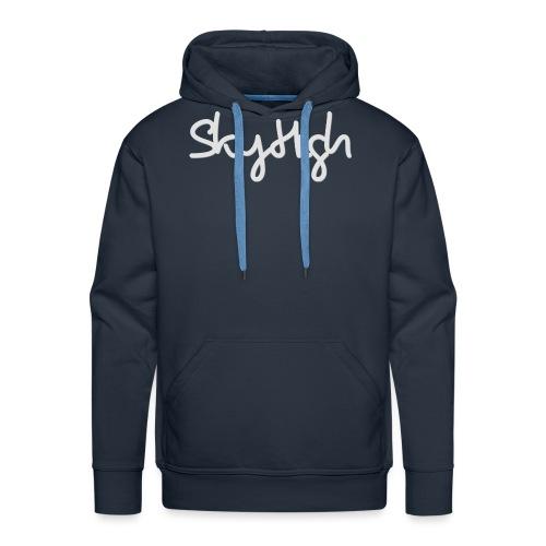 SkyHigh - Women's Hoodie - Gray Lettering - Men's Premium Hoodie