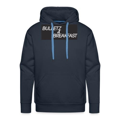 bulletz4breakfast_t-shirt - Men's Premium Hoodie