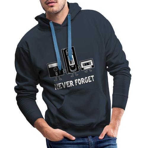 Never Forget - Männer Premium Hoodie