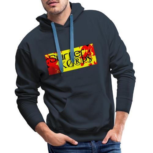 Surfer Korps - Sudadera con capucha premium para hombre
