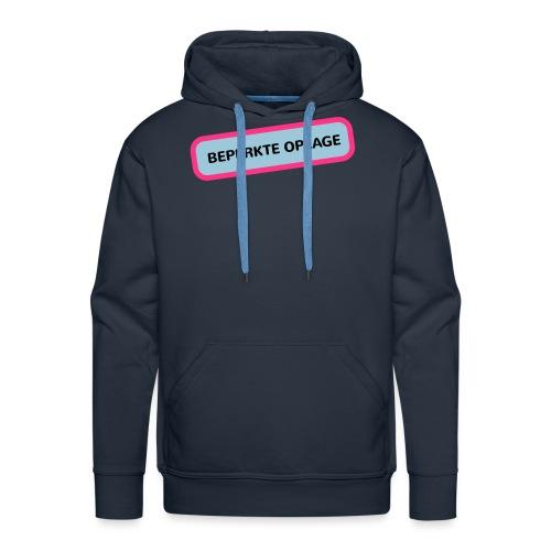 Grappige Rompertjes: Beperkte oplage - Mannen Premium hoodie