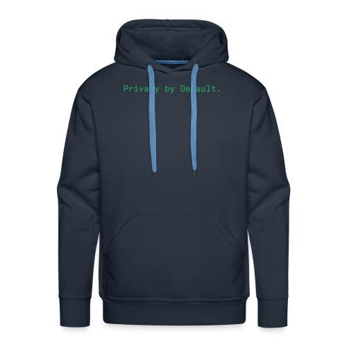 pEp-slogan-green - Männer Premium Hoodie
