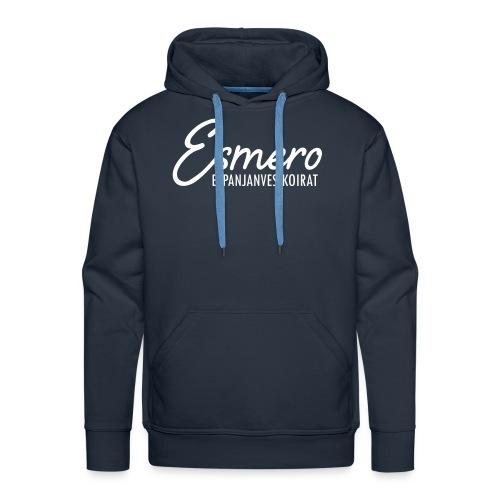 Esmero-kennel tuotteita - Miesten premium-huppari