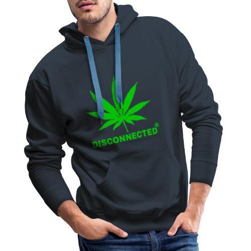 Disconnected Design - Sweat-shirt à capuche Premium pour hommes