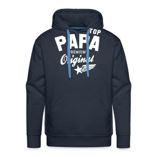 Original TOP PAPA - Premium Vater Design - Männer Premium Hoodie