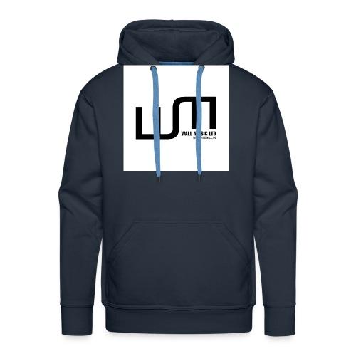 wall music t shirt aufdruck jpg - Männer Premium Hoodie