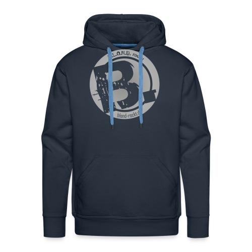 Logo Aufkleber Druck png - Männer Premium Hoodie