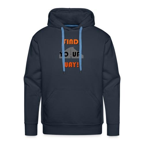 FIND - Sudadera con capucha premium para hombre