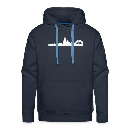 Köln-Skyline - Männer Premium Hoodie