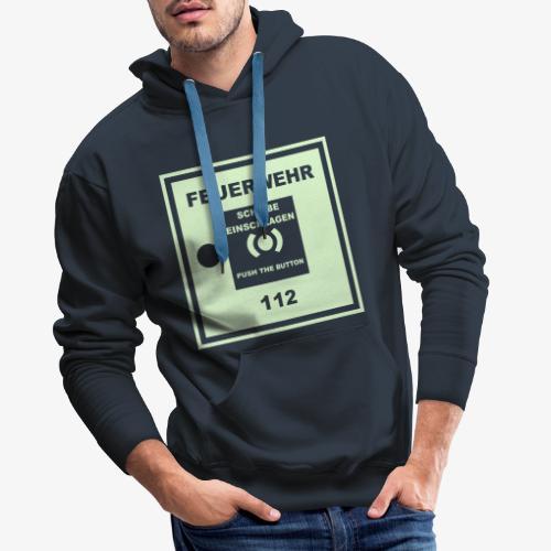 Feuermelder - Männer Premium Hoodie