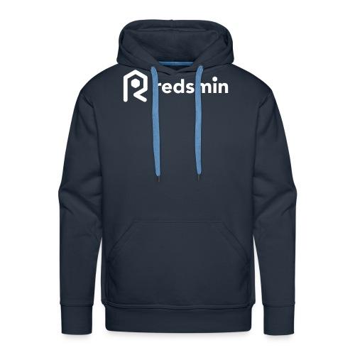 Redsmin white - Men's Premium Hoodie