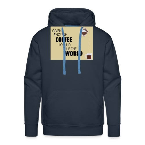 Coffee Champion - Men's Premium Hoodie