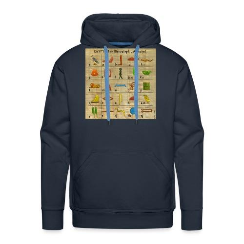 The Hieroglyphic Alphabet - Männer Premium Hoodie