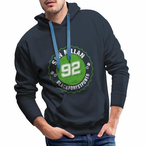San Millan Blackforestpower 92 rund - Männer Premium Hoodie