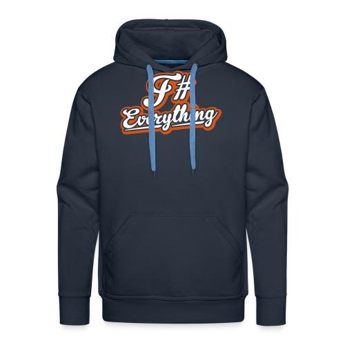 F# Everything - Men's Premium Hoodie
