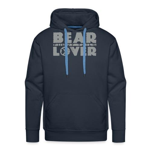 BEAR LOVER - Sweat-shirt à capuche Premium pour hommes