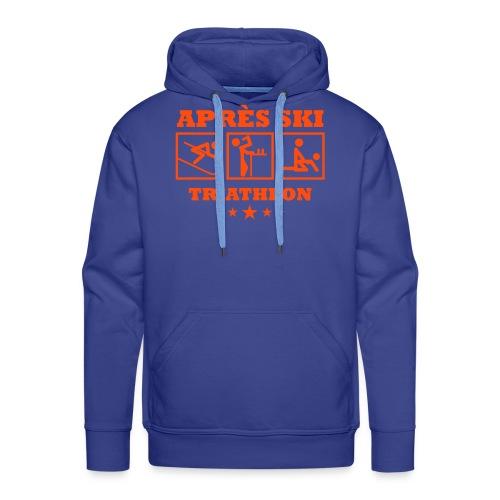 Apres Ski Triathlon | Apreski-Shirts gestalten - Männer Premium Hoodie