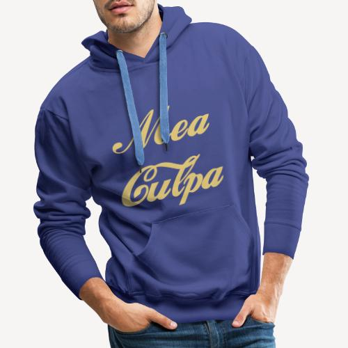 MEA CULPA - Men's Premium Hoodie