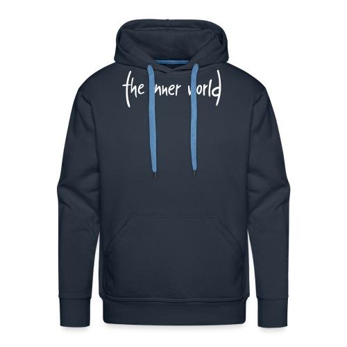 The Inner World Logo weiß - Männer Premium Hoodie