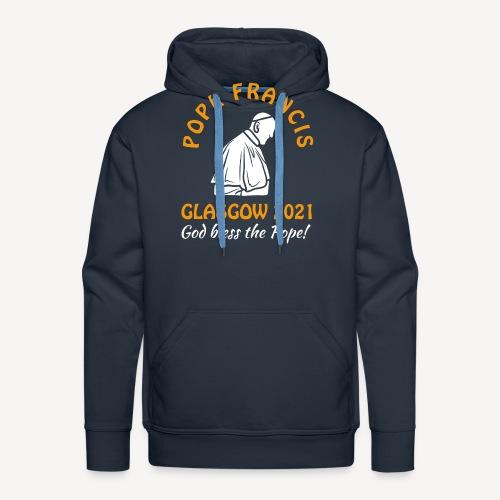POPE FRANCIS GLASGOW 2021 - Men's Premium Hoodie