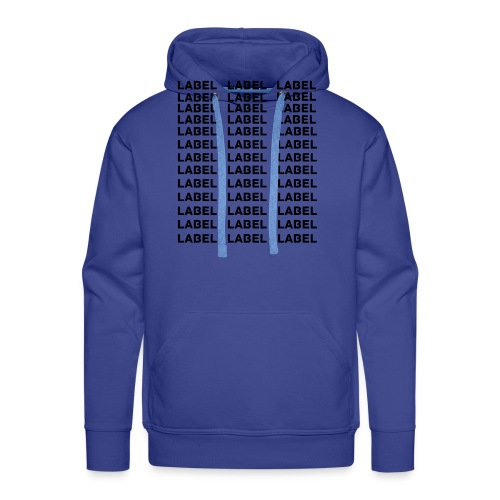 LABEL - Multitude Design - Men's Premium Hoodie