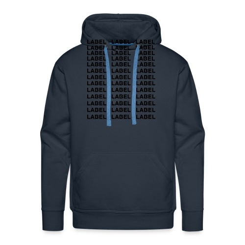 LABEL - Multitude Design - Men's Premium Hoodie