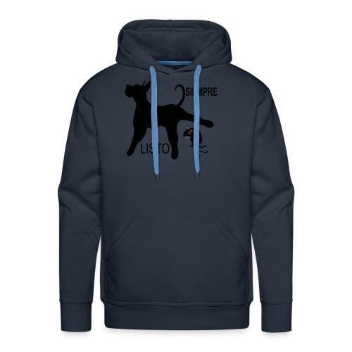 SIEMPRE LISTO - Sudadera con capucha premium para hombre