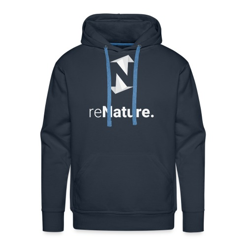reNature Hoodie - Mannen Premium hoodie
