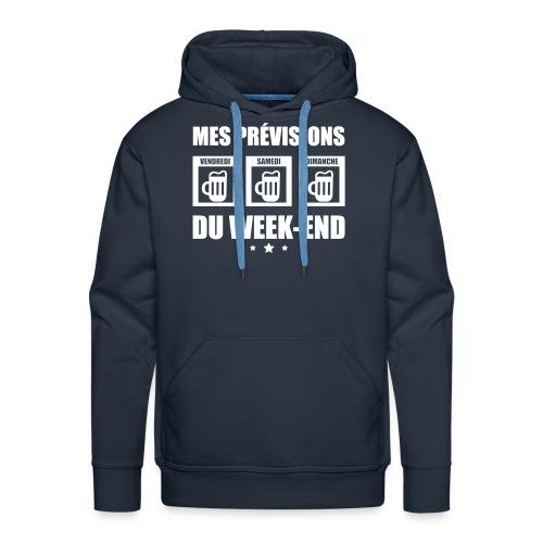 Mes prévisions du week end - Sweat-shirt à capuche Premium pour hommes