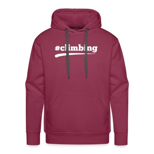 #CLIMBING - Männer Premium Hoodie