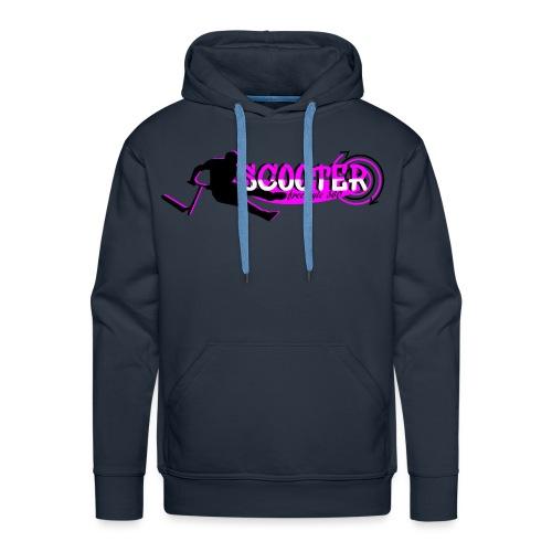 scooter freestyle 360 rose - Sweat-shirt à capuche Premium pour hommes