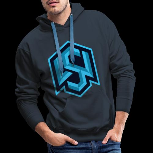 "Silent Wolves Inverted ""SW"" Merchandise - Men's Premium Hoodie"