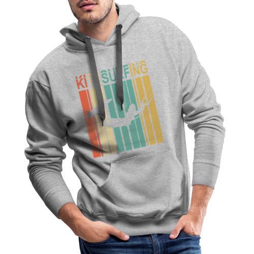 Kitesurfing - Sweat-shirt à capuche Premium pour hommes