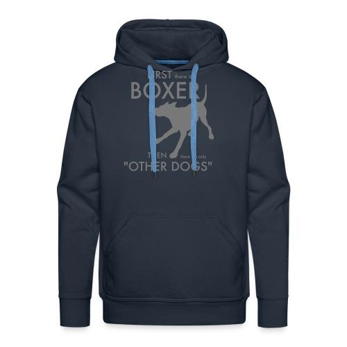 Bella Boxer Dog - Premiumluvtröja herr