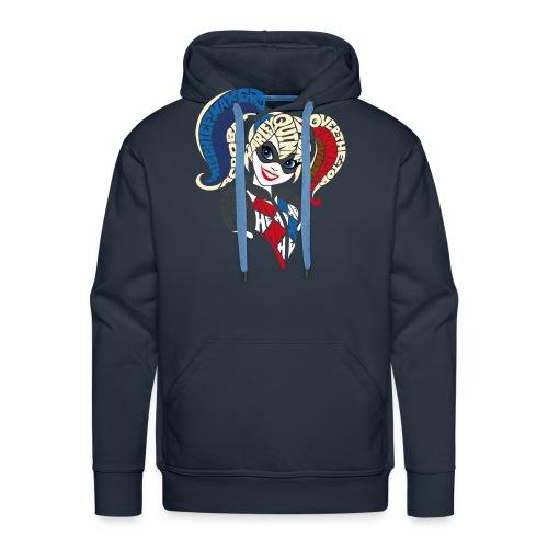 DC Super Hero Girls Harley Quinn Typografie - Männer Premium Hoodie