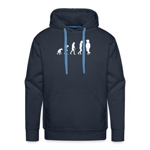 Markustery´s Evolution Tasse - Männer Premium Hoodie