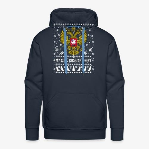 116 My Cool Russian Shirt Russland T-Shirt Snow - Männer Premium Hoodie