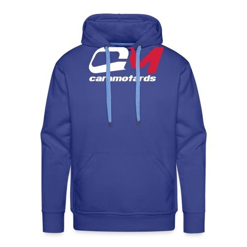 logo bleu cm2012 - Sweat-shirt à capuche Premium pour hommes