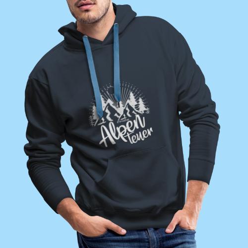 Alpenteuer - Männer Premium Hoodie