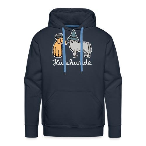 Hütehunde Hunde mit Hut Huetehund - Männer Premium Hoodie