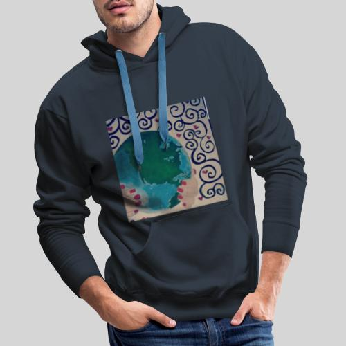 Earth in our hands - Men's Premium Hoodie