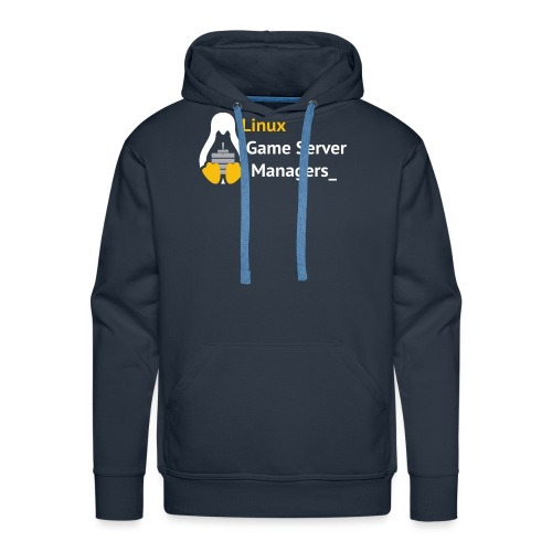 Linux Game Server Managers - Men's Premium Hoodie
