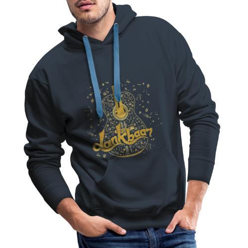 Dankbaar Gitaar Goud - Mannen Premium hoodie