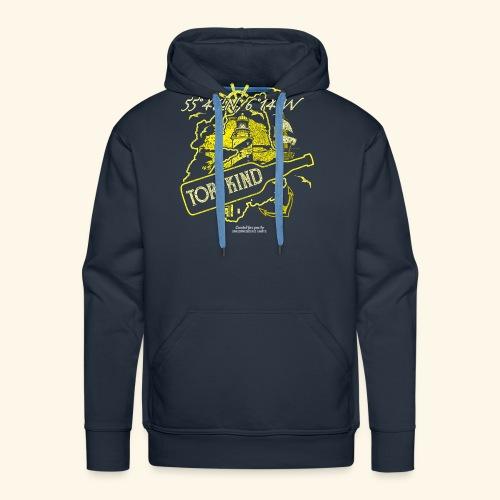 Whisky T Shirt Design Torfkind für Islay Fans - Männer Premium Hoodie