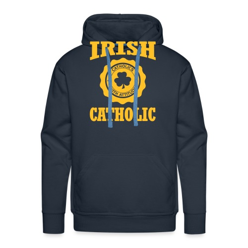 IRISH CATHOLIC - Men's Premium Hoodie