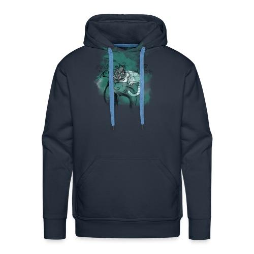 Cat chester - Sudadera con capucha premium para hombre